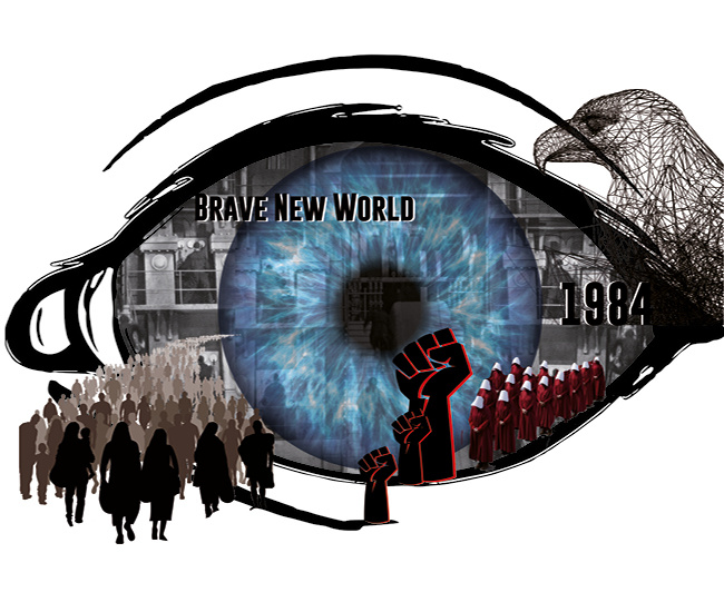 Dark Dystopias: 1984 and Brave New World