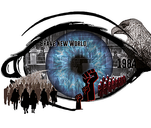 Dark Dystopias: 1984 and Brave New World - 1