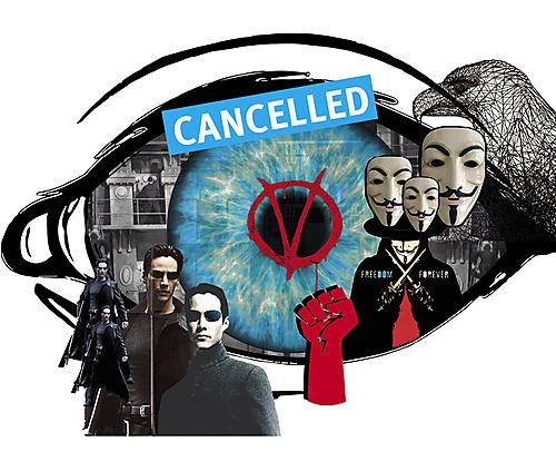 Dark Dystopias: The Matrix and V for Vendetta CANCELLED - 1