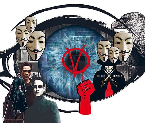 Dark Dystopias: Watching The Matrix and V for Vendetta after a Lockdown - 1