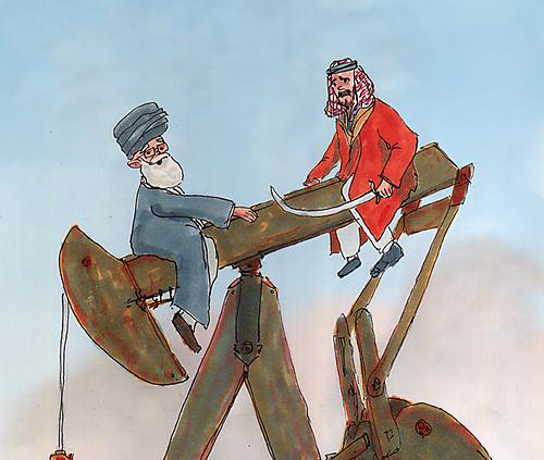 De macht in het Midden-Oosten - 1