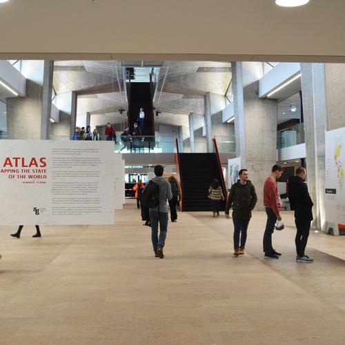 Eerste tentoonstelling in heropend TU/e hoofdgebouw