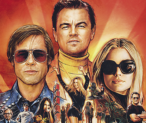 Once upon a time in Hollywood film plus (full) - 1