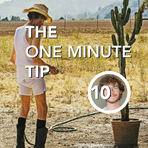 SG One minute tip | Cinetree