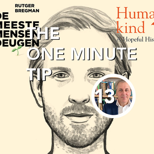 SG One minute tip | De meeste mensen deugen (Humankind: A Hopeful History)