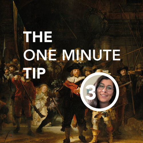 SG One minute tip | The Rijksmuseum
