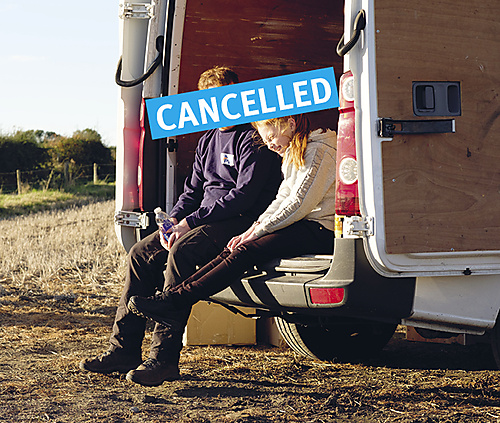 Sorry we missed you CANCELLED - 1