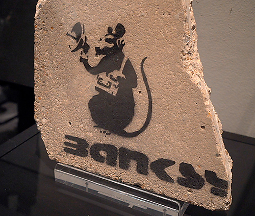 The man who stole Banksy - 1