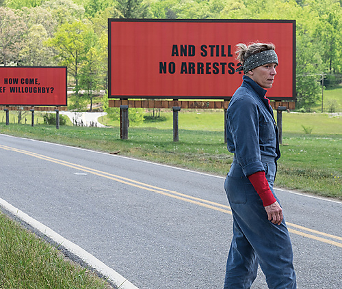 Three billboards outside Ebbing, Missouri - 1